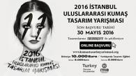 11. İstanbul 2016 Uluslararası Kumaş Tasarım Yarışması