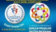 Gençlik Projeleri Destek Programı 2016-II Genel Çağrısı