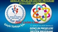 Gençlik Projeleri Destek Programı 2016-II Özel Çağrısı