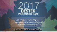 YTB 2017 Yılı Destek Programları