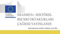 Erasmus+ Sektörel Beceri Ortaklıkları Çağrısı