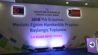Erasmus+ Mesleki Eğitim Hareketlilik Projeleri Bilgilendirme Toplantısı