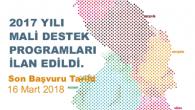Ahiler Kalkınma Ajansı 2017 Yılı Mali Destek Programı