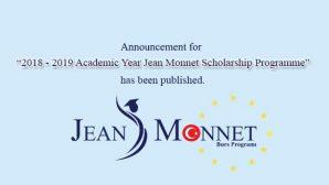 Jean Monnet Burs Programı Yazılı Sınavı ile İlgili Bilgilendirme