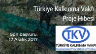 Türkiye Kalkınma Vakfı Hibe Desteği