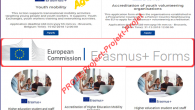 Erasmus+ Başvuruları Çevrimiçi Alınacaktır.