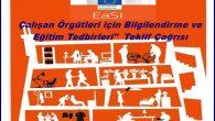EaSI Çalışan Örgütleri için Bilgilendirme ve Eğitim Tedbirleri Teklif Çağrısı