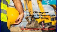 EaSI Programı Kayıtdışı İstihdama İlişkin Teklif Çağrısı
