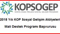 KOP Sosyal Gelişim Atölyeleri Mali Destek Programı