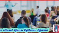 Türkiye Ulusal Ajansı Eğitmen Eğitimi