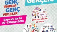 Gençlik Projeleri Destek Programı 2018-I Özel Çağrısı