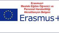 2019 yılı Erasmus+ Mesleki Eğitim Öğrenici ve Personel Hareketliliği Akreditasyon Belgesi Sonuçları