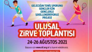 """""""Geleceğin Tenis Sporunu Gençler için Gençlerle Şekillendiriyoruz"""" Projesi Ulusal Zirve Toplantısı"""